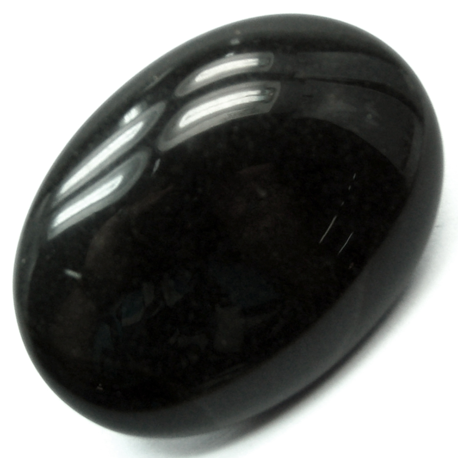 Cabochon - Black Jasper Crystal Cabochons photo 2