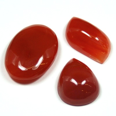 "Cabochons - Carnelian Cabochon ""Free-Form\"" \""Extra\"" (India)"