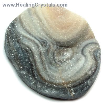Discontinued - Chalcedony Desert Druzy Cabochon (India)