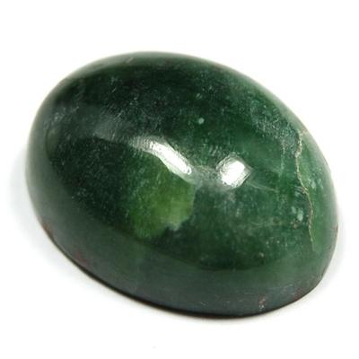 Green Jade Nephrite Cabochon