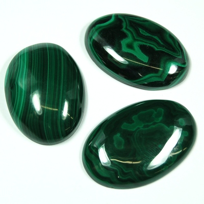 Cabochon - Malachite Cabochon photo 4