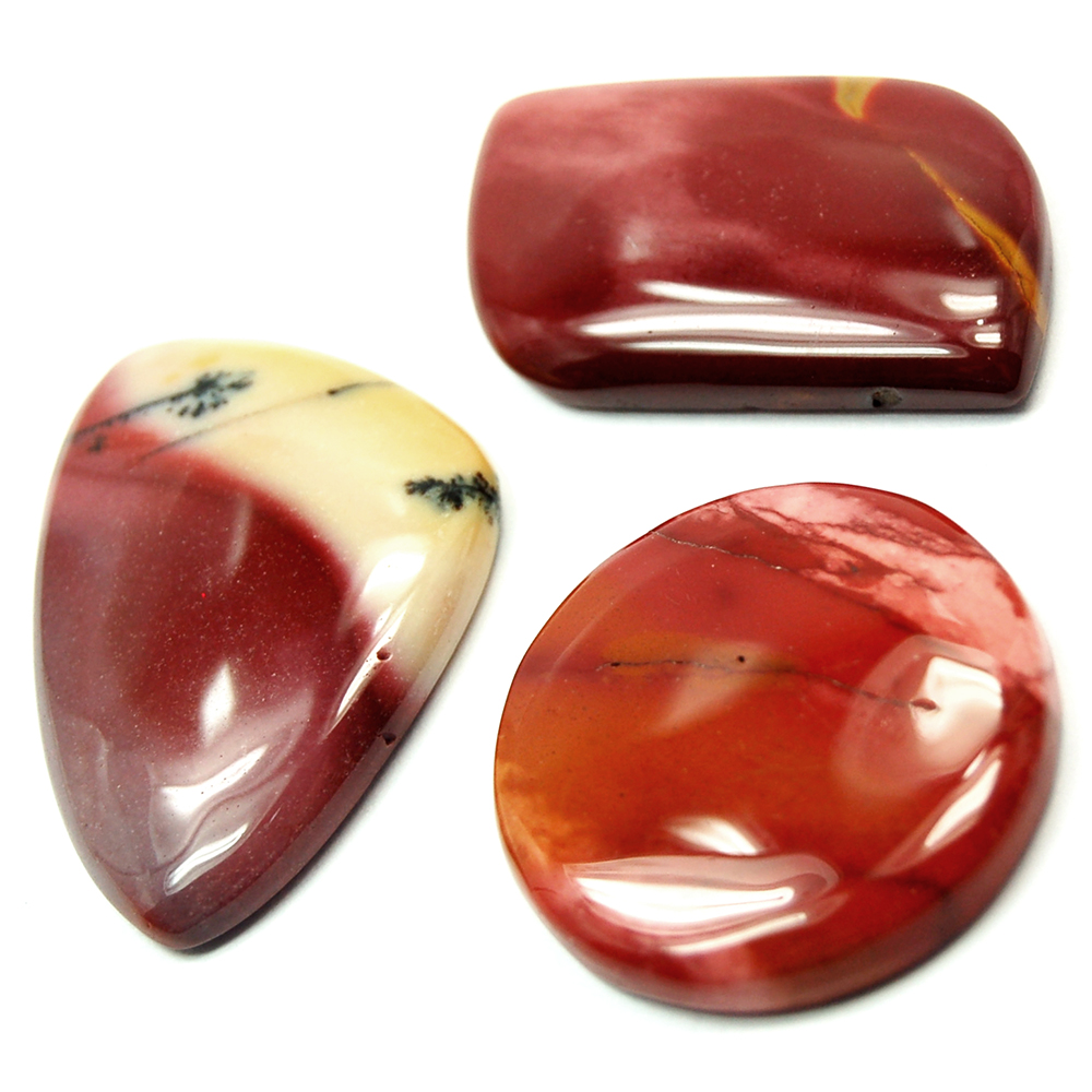 Cabochon - Mookaite Cabochons photo 7