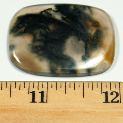 Cabochon - Moss Agate Crystal Cabochons photo 3