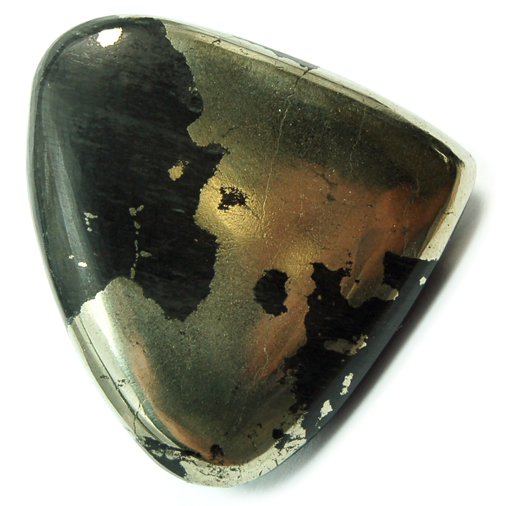 Discontinued - Chalcopyrite in Matrix Cabochon (India)