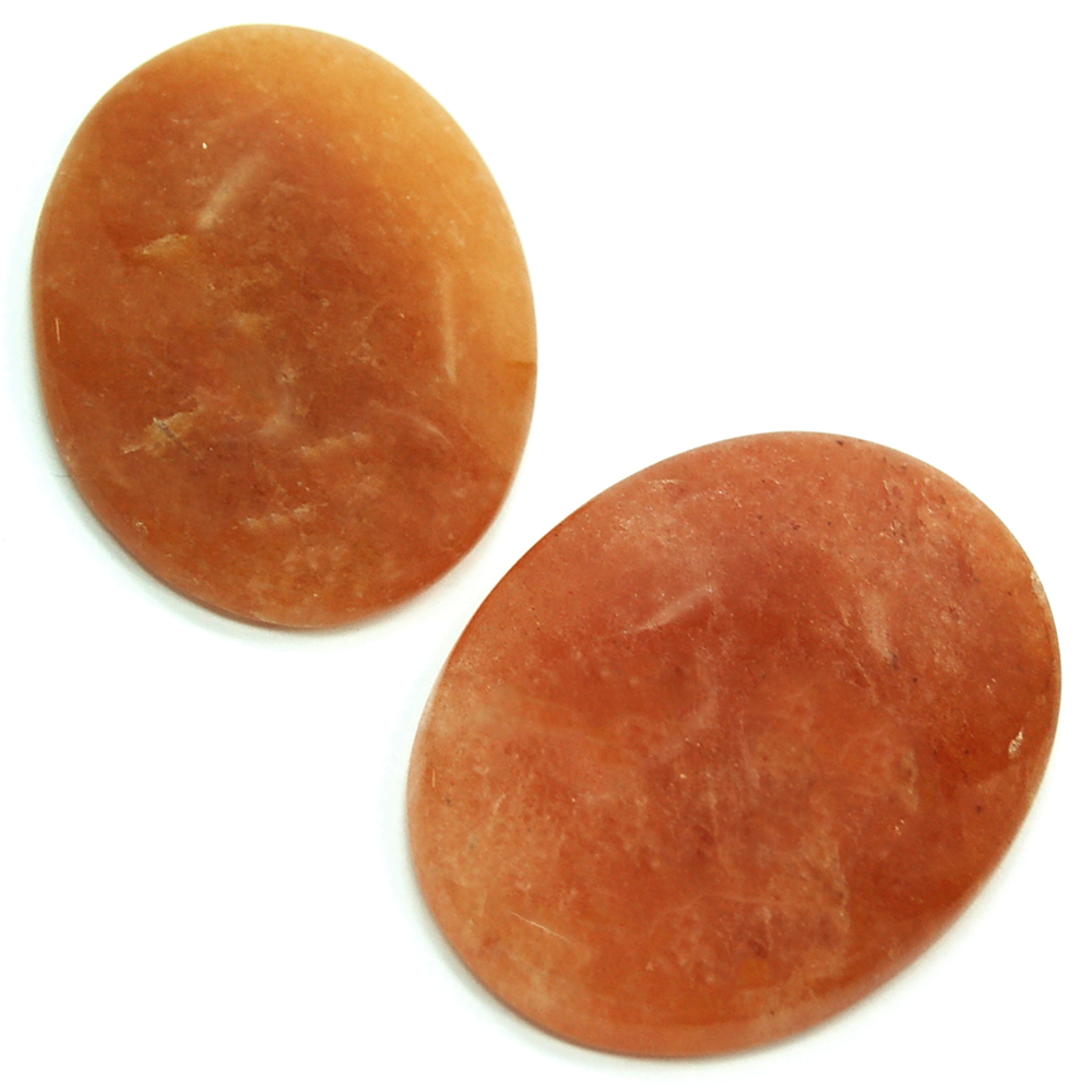 Cabochons - Orange Aventurine Cabochon (India)