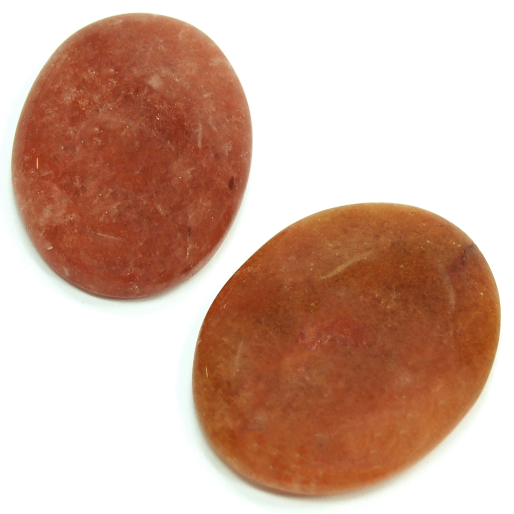 Cabochon - Orange Aventurine Crystal Cabochons photo 3