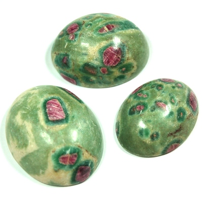 Cabochon - Ruby Zoisite Crystal Cabochons photo 5