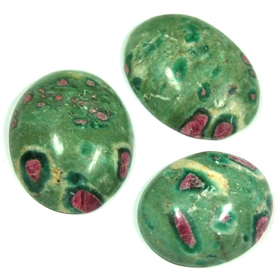 Cabochon - Ruby Zoisite Crystal Cabochons photo 6