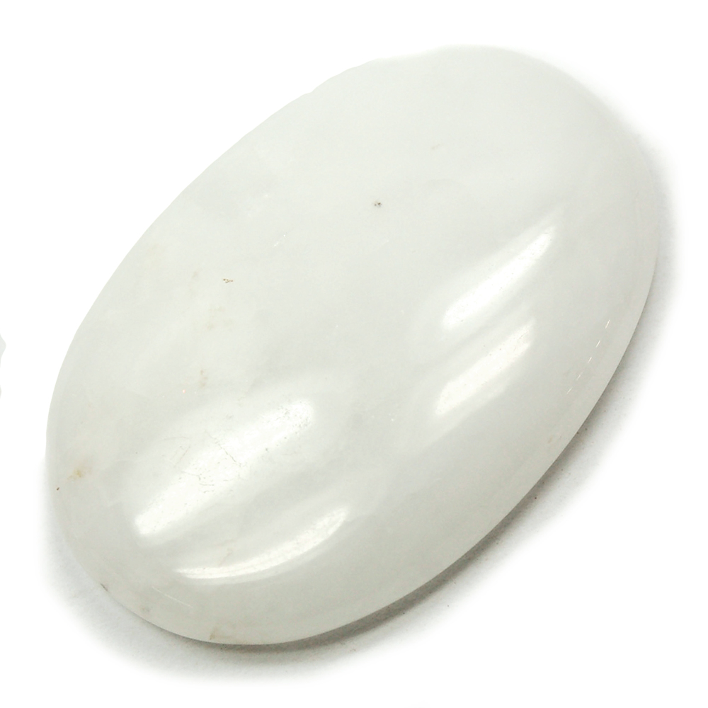 CLEARANCE - Cabochons - White Aventurine Cabochon (India)