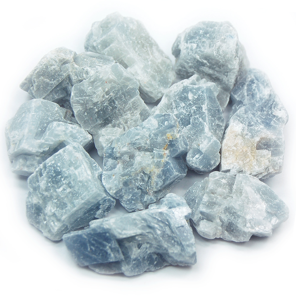 Calcite  Blue Calcite Natural Chunks (Mexico)