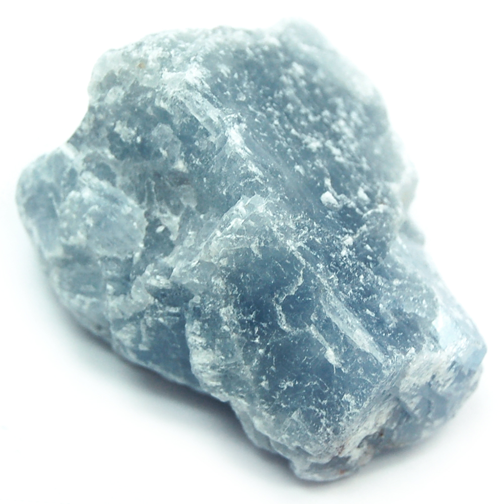 Calcite - Blue Calcite Chunks (Mexico)