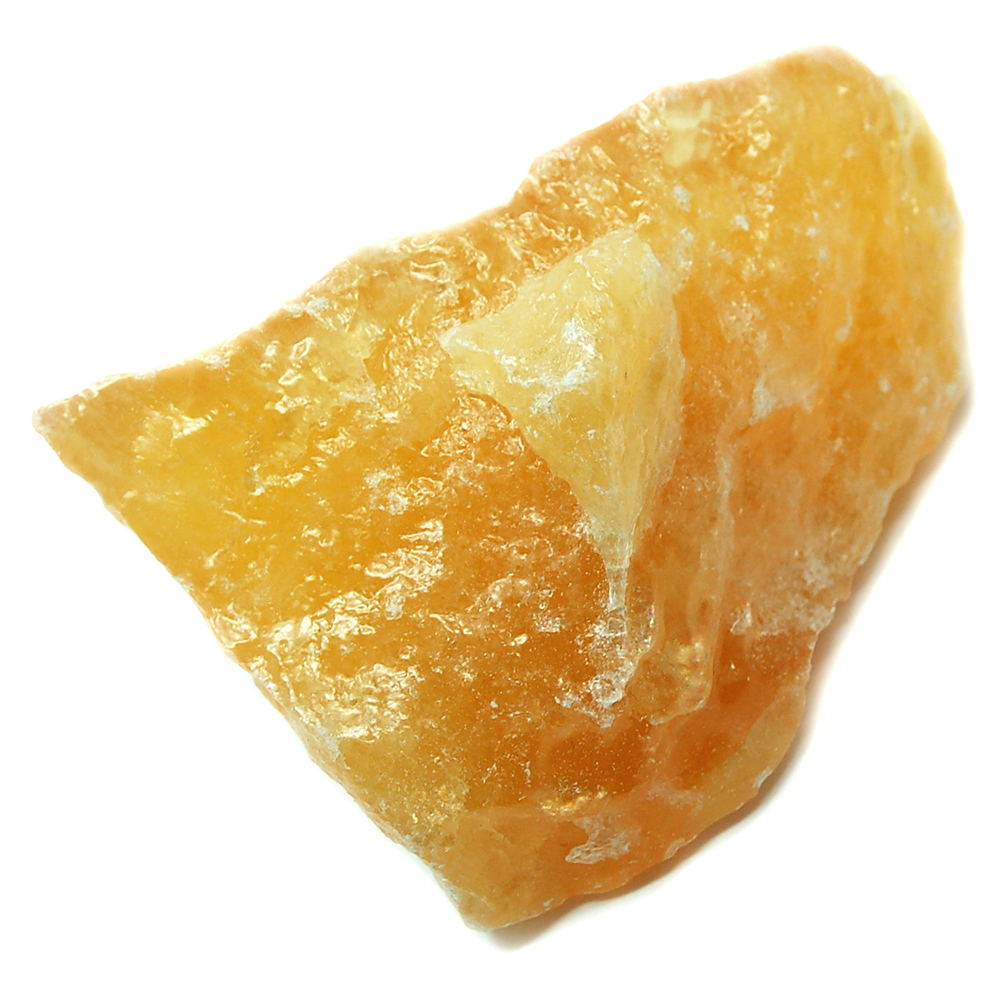 Calcite orange calcite natural chunks mexico orange calcite
