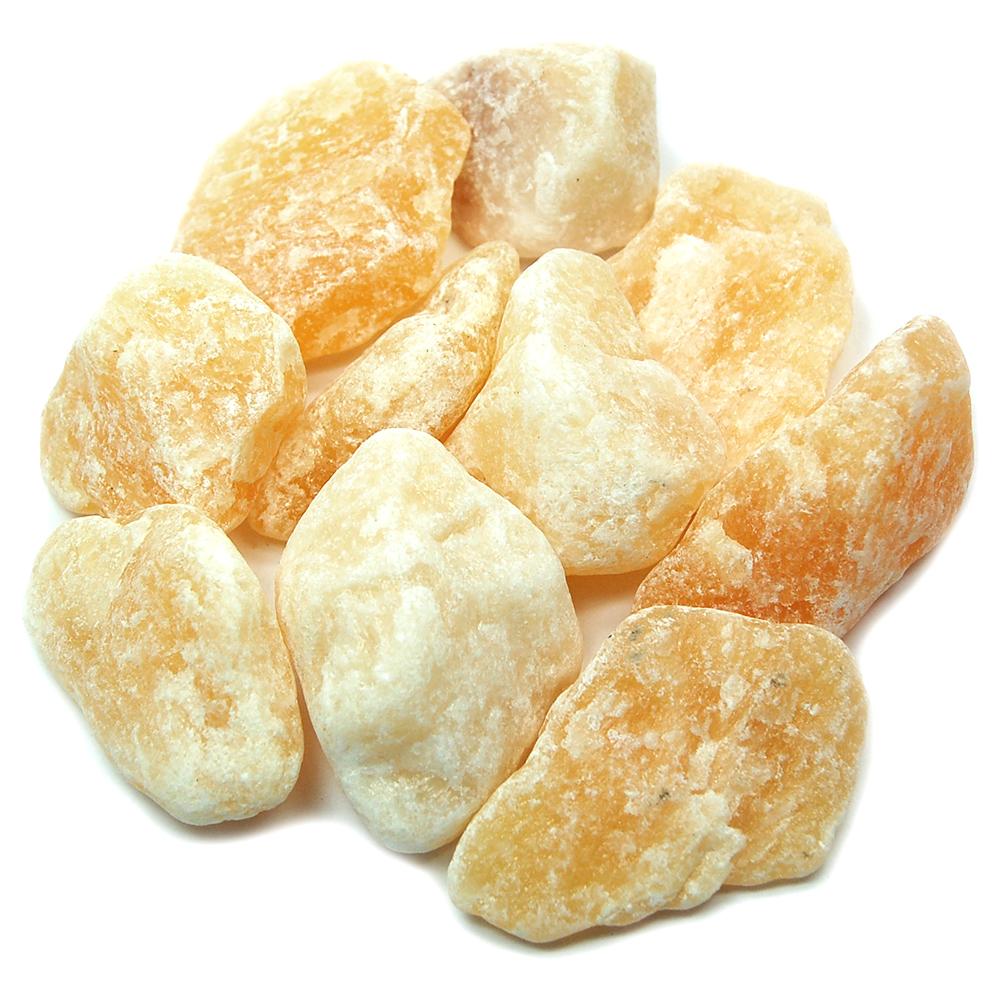 Calcite - Orange Calcite Natural Chunks (Mexico)- Orange