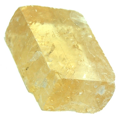 Calcite - Yellow Optical Calcite (China)