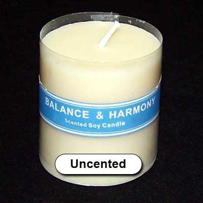 "Candles - Balance & Harmony 2"" Votive Candle - Unscented"
