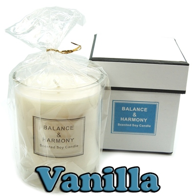 Candles - Balance & Harmony Boxed Candle in Jar - Vanilla