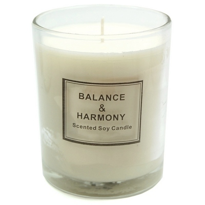 Discontinued - Balance & Harmony Boxed Candle in Jar - Vanilla