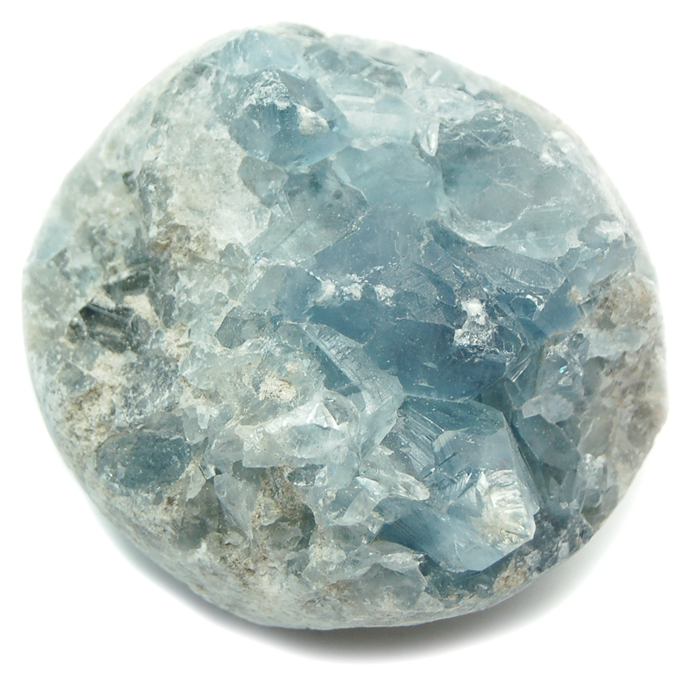 Celestite - Celestite In Matrix (Brazil)