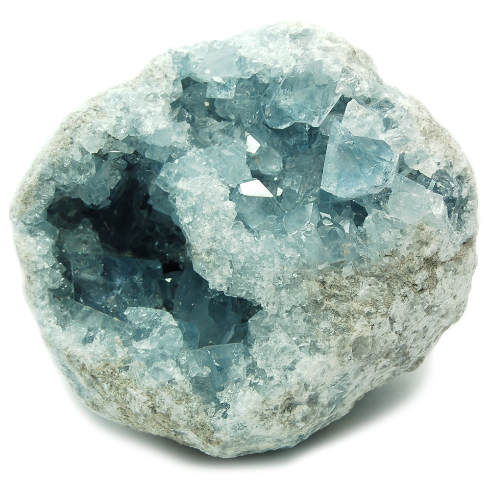 Celestite - Celestite in Matrix  (Madagascar)