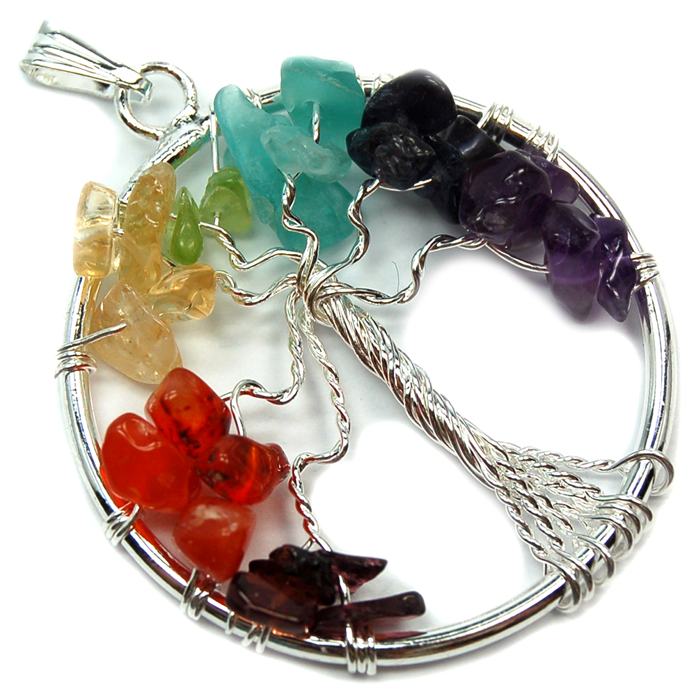 Chakra pendants 7 chakra tree of life pendant india amethyst pictures represent typical quality aloadofball Choice Image