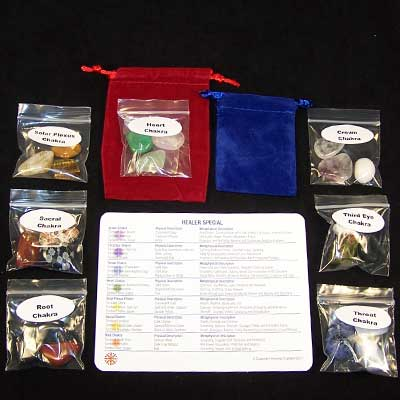 Chakra Set - Healer Special - Discount Assortment photo 8