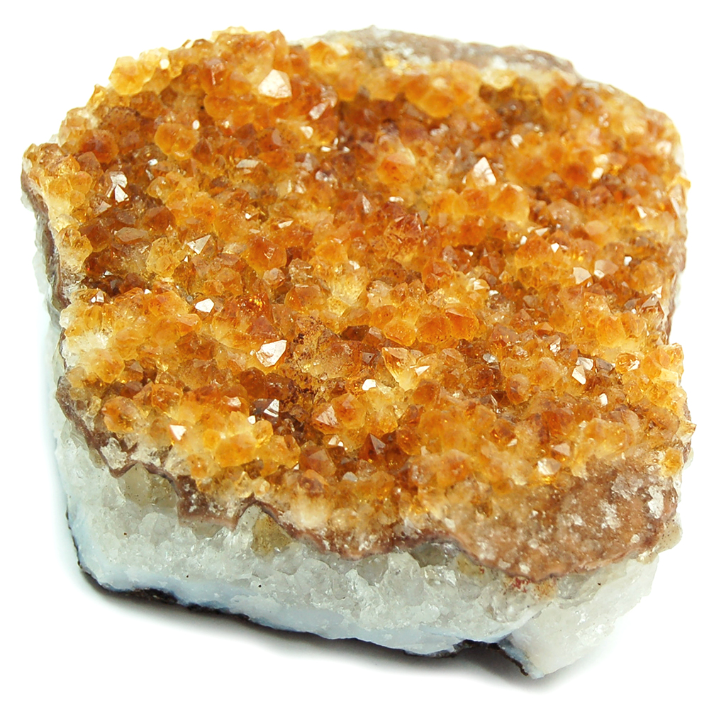Discontinued - Citrine - Citrine Cluster / Druze Cab photo 6