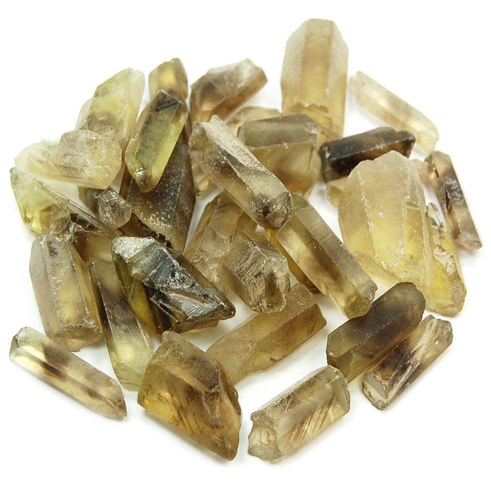 "Citrine - Citrine Natural Points w/Phantoms ""A/B\"" (Brazil)"
