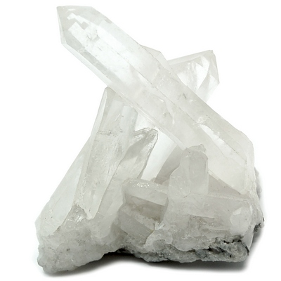 "Clear Quartz Crystal Cluster ""A"" Grade (Brazil) photo"