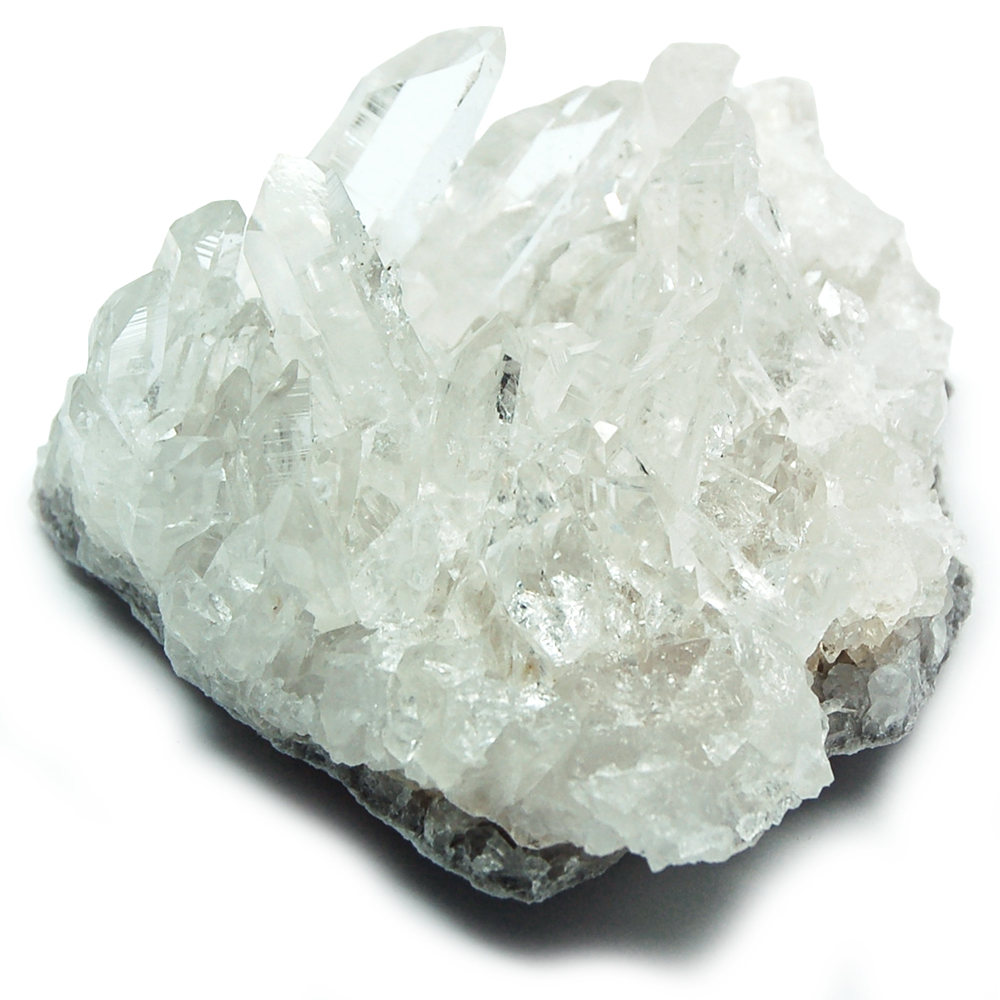 Clear Quartz Clusters from Arkansas