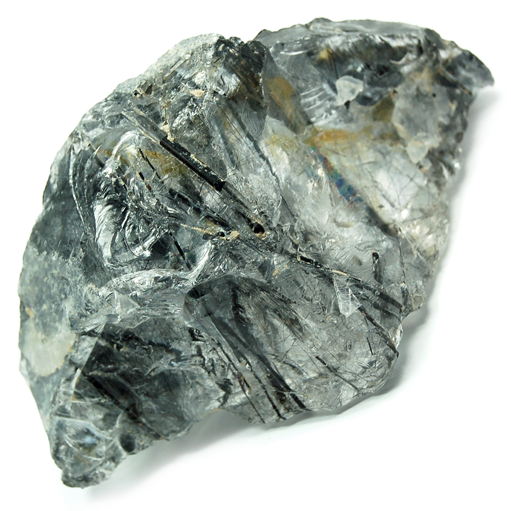 "Clear Quartz Natural Chunks w/Indicolite ""Extra"" (Brazil)"