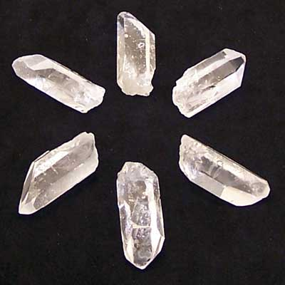 "Clear Quartz - GRID SET - Points ""Extra"" (Brazil)"