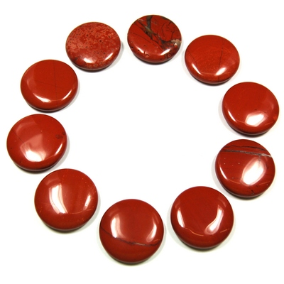 Coin - Red Jasper Coins (China)
