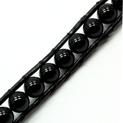 "Discontinued - Black Onyx ""Chan Luu\"" Style Bracelet (China)"
