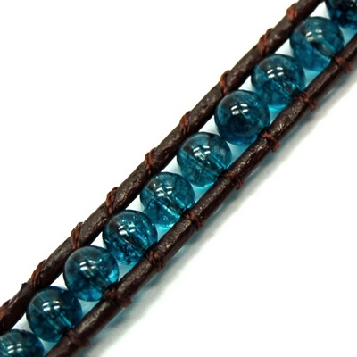 "Discontinued - Blue Topaz ""Chan Luu\"" Style 3mm Bracelet"