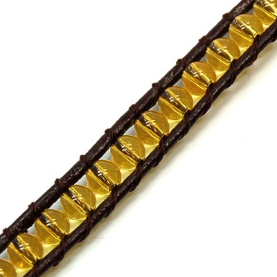 "Discontinued - Citrine ""Chan Luu\"" Style 3mm Bracelet"