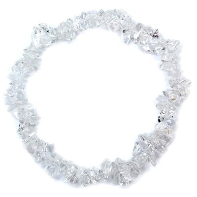 Bracelets Clear Quartz Single Strand Bracelet India