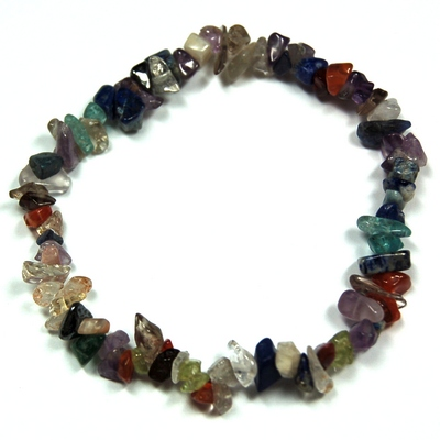 Bracelets - Multi-Colored Single Strand Bracelet (India)