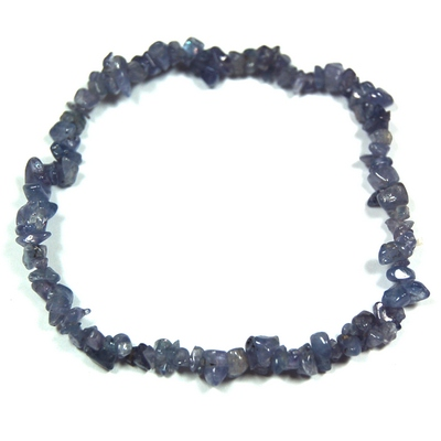Bracelets - Tanzanite Single Strand Bracelet (India)