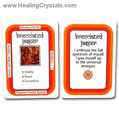 Crystal Information Cards / Crystal Decks by Stone Type (13-24)