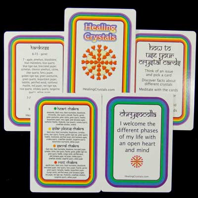 New Arrival: Oracle Deck/Crystal Information Cards - Current