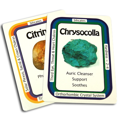 Crystal Information Cards / Oracle Decks 1, 2 & 3