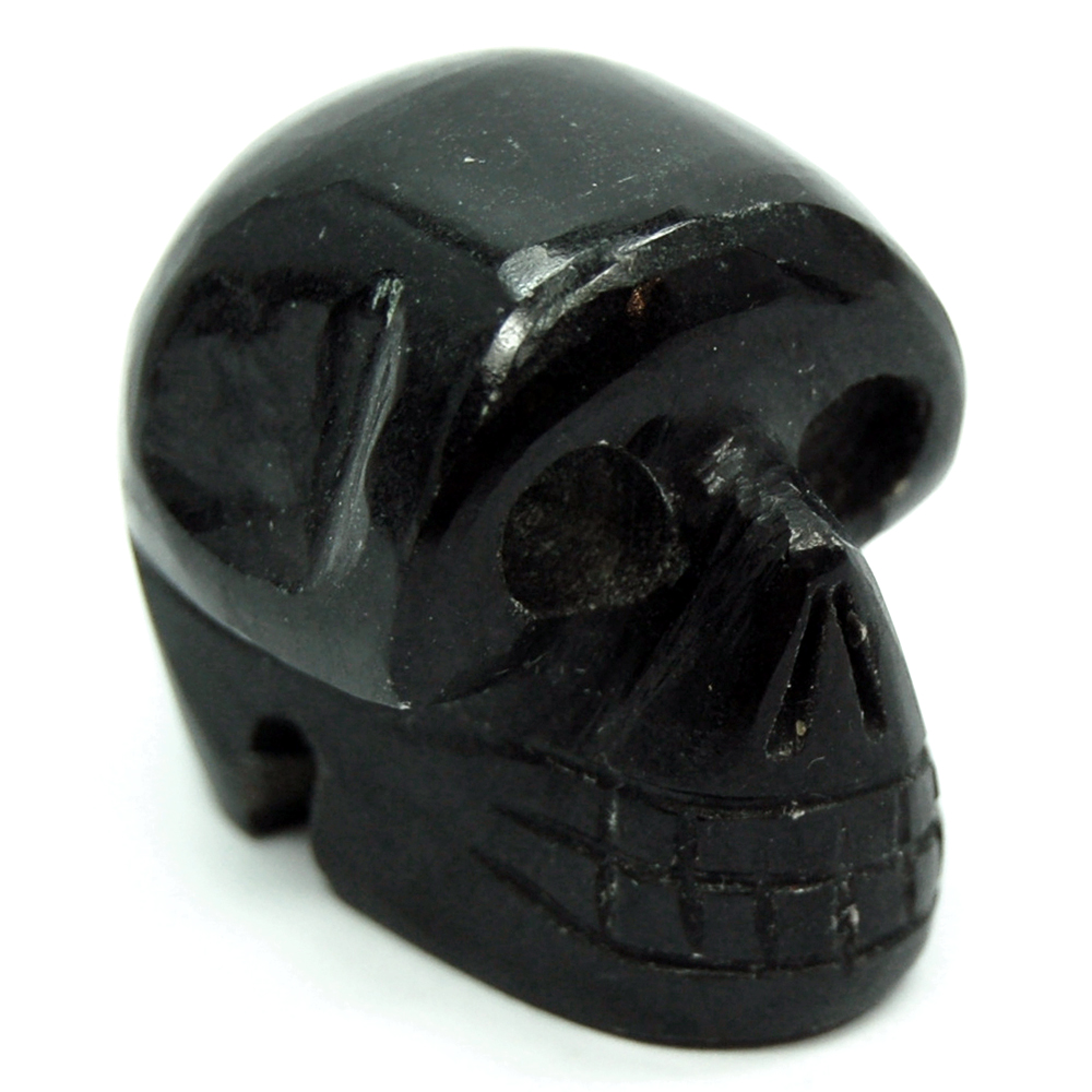 Crystal Mini-Skulls - Black Agate Mini-Skull (India)