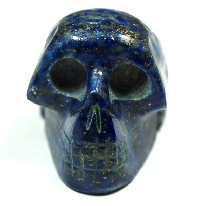 Crystal Mini-Skulls - Lapis Lazuli Mini-Skull (India)