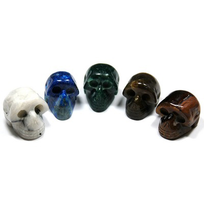 Crystal Mini-Skulls Assortment 2 (5pcs.) (India)