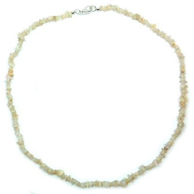 Necklaces - Ethiopian Opal Tumbled Chips Necklace