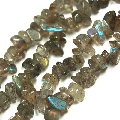 Necklaces - Labradorite Tumbled Chips Necklace (India)