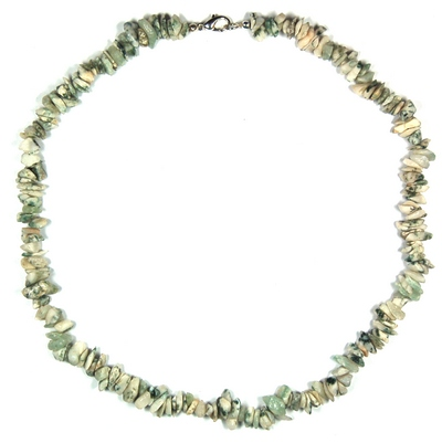 Necklaces - Tree Agate Tumbled Chips Necklace (India)