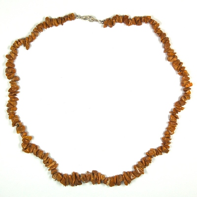 Necklaces - Yellow Jasper Tumbled Chips Necklace (India)