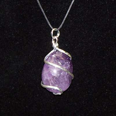 Can i bathe while wearing my new amethyst pendant crystal i recently got an amethyst pendant and am loving wearing it i want to know from a crystal healing expert if i can take bath everyday while wearing it or if aloadofball Images
