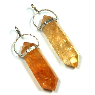 Pendants citrine 6 sided dt pendant brazil citrine healing pictures represent typical quality aloadofball Choice Image